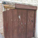 Reparatur Türe